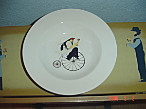 Oneida Kitchen Chefs To Go #4 Rimmed Soup Bowl
