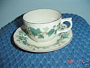 Nikko Greenwood Cups And Saucers