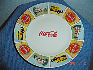 Gibson Brand New Coca Cola Lunch Plates
