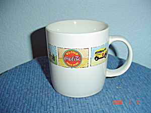 "Gibson Brand New Coca Cola 4"" Tall Mugs"