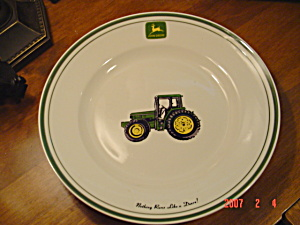 John Deere Dinner Plate - Nothing Runs Like A Deere