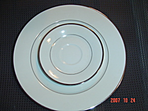 Noritake Spectrum Dinner And Saucer
