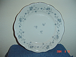 Johann Haviland Blue Garland Dinner Plates - Bavaria (Image1)