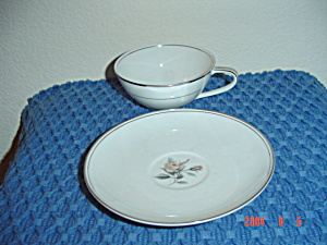 Noritake Rossina Cups And Saucers