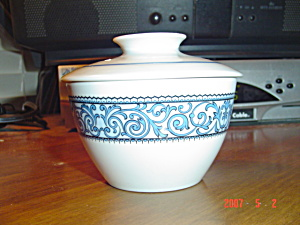 Noritake Cielito Lindo Covered Sugar Bowl