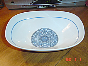 Noritake Cielito Lindo Oval Serving Bowl