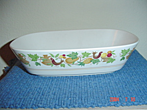 Noritake Progression Homecoming Oval Serving Bowl