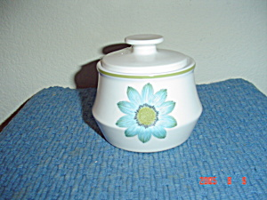Noritake Progression Upsa Up-sa Daisy Sugar Bowl