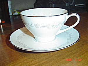 Noritake Amy Cups And Saucers