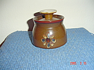 Noritake Pueblo Covered Sugar Bowl