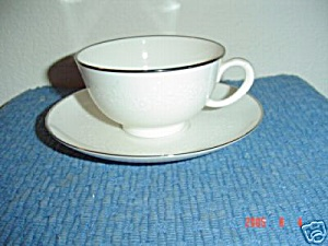 Noritake Montblanc Cups And Saucers