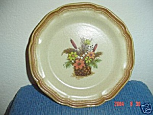 Mikasa Whole Wheat Autumn Song Salad Plate