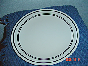 Corelle Classic Cafe Black Dinner Plates
