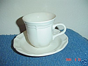 Mikasa French Countryside Cups And Saucers