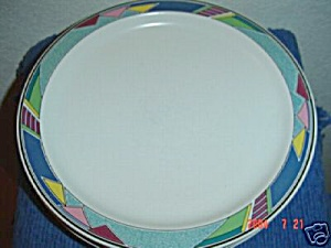 Mikasa Color Court Bread And Butter Plates