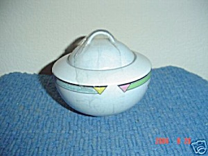 Mikasa Color Court Covered Sugar Bowl