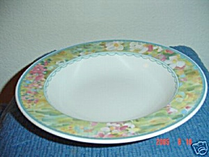 Mikasa Floral Meadow Rimmed Serving Bowls
