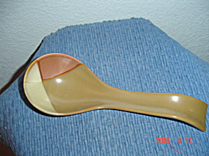 NEW Sango Gold Dust Sienna Spoon Rest (Image1)