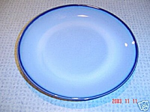 Sango Nova Blue 10.5 In. Dinner Plates