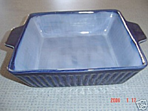 New Sango Nova Blue Square 9 In. Square Baker