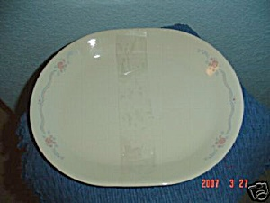 Corelle English Breakfast Oval Platter