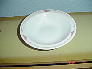 NEW Pyroceram Pink Vine Design Dessert Bowls (Image1)