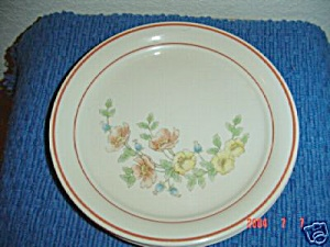 Corelle Rose Garden Lunch Plates