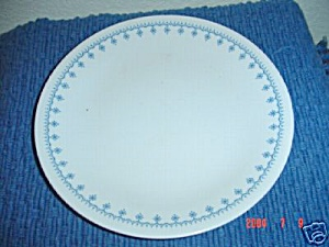 Corelle Snowflake Lunch Plates