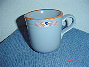 Noritake Blue Adobe Tall Mugs (Image1)