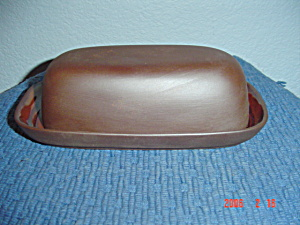 New Sango Canyon Sienna Covered Butter Dish