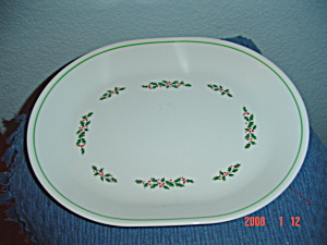 Corelle Holly Days Oval Platter (Image1)