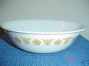 Corelle Butterfly Gold Veggie Bowls (Image1)