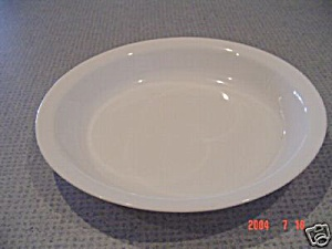 Corning Ware White Frost 9 In. Pie Plate