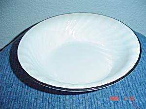 Corelle Tiger Lily/Black Enhancements Soup/Cereal Bowl (Image1)