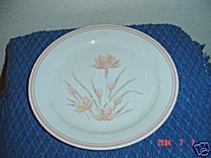 Corelle Peach Floral Dinner Plates (Image1)