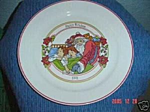 Corelle 1991 Happy Holidays Dinner Plate