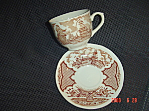 Alfred Meakin Fair Winds Cups And Saucers