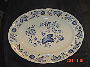 Johnson Bros. Windsor Ware Pods Large Oval Platter Turkey Size