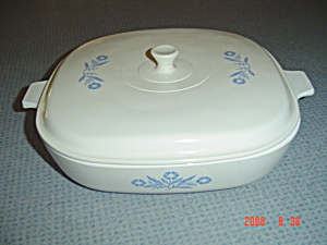 Corning Ware Cornflower Blue 10 In. Casserole W/lid
