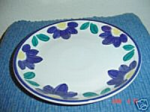International Blue Napoli Salad Plates (Image1)