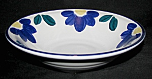 International Blue Napoli Cereal Bowls