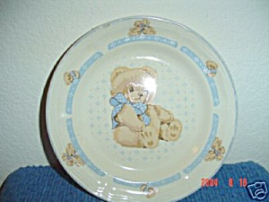 Tienshan Country Bear Round Platter