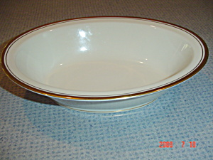 Noritake Ivory China Viceroy Oval Serving Bowl