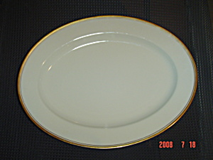 Noritake Ivory China Viceroy Large Oval Platter