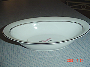 Noritake Lilybell Oval Serving Bowl