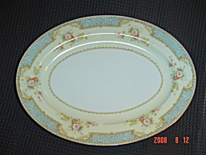 Noritake Bluedawn No. 622 Small Oval Platter