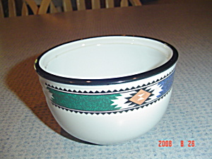 Noritake Kachina Sugar Bowl Or Desert Bowl