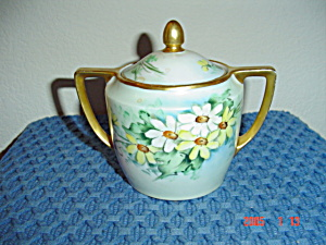 Weimar Daisy Design Covered Sugar Bowl