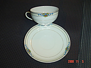 Noritake Glenora Cups And Saucers