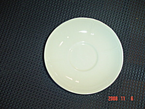Wedgwood Queens Shape Ivory Saucers (Image1)